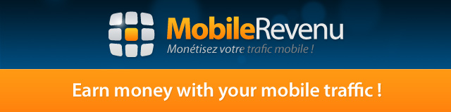 Earn money with your mobile traffic